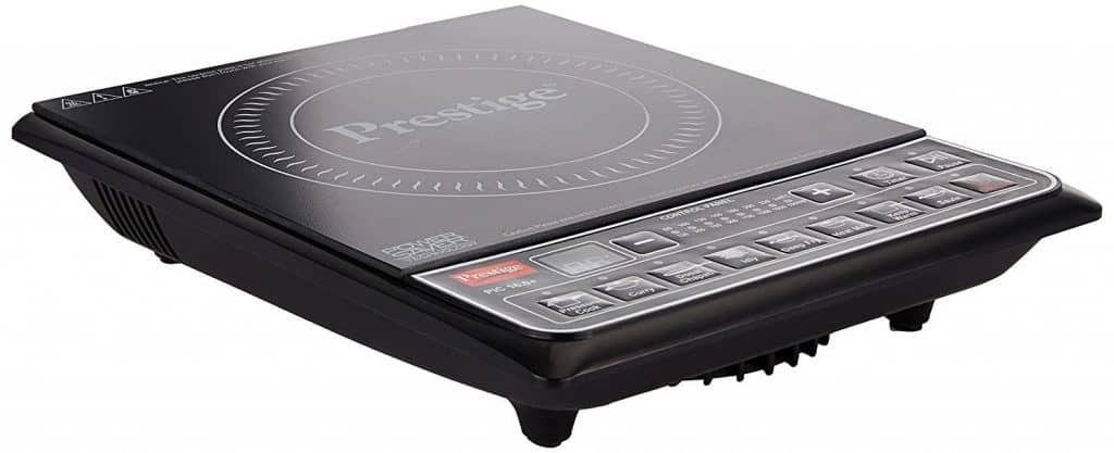 Low power induction cooktop