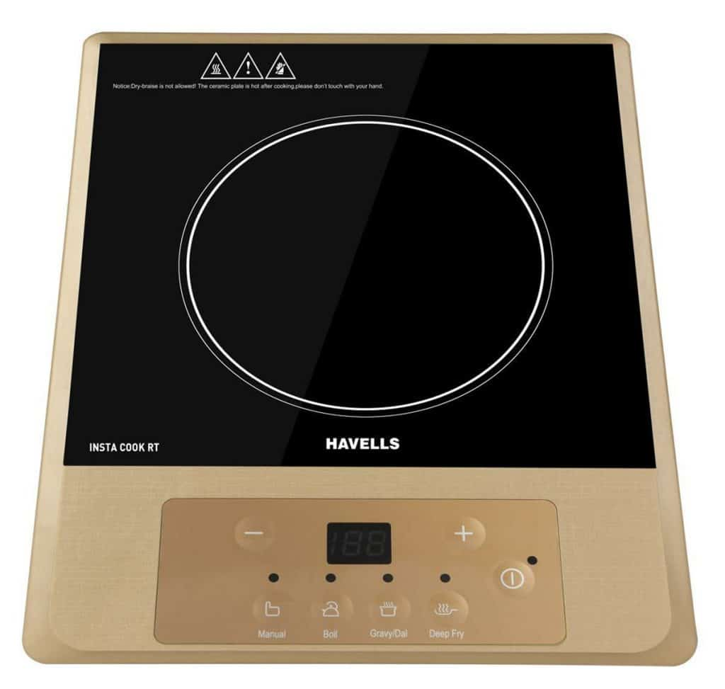 Induction cooktop prices in India