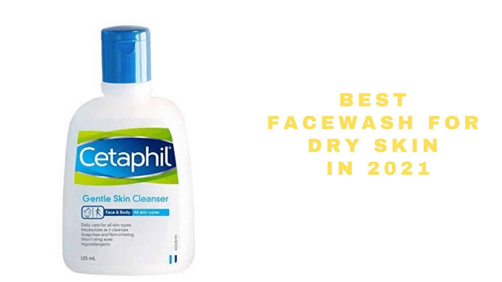 top face wash brands for dry skin in India