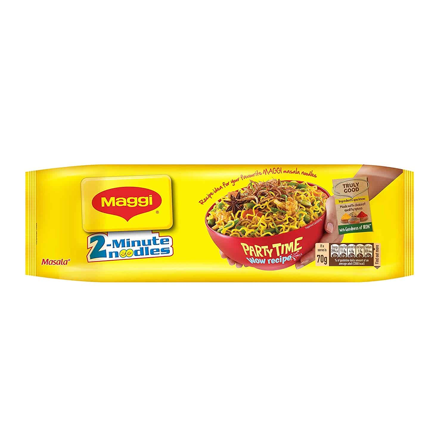 best selling noodles in India