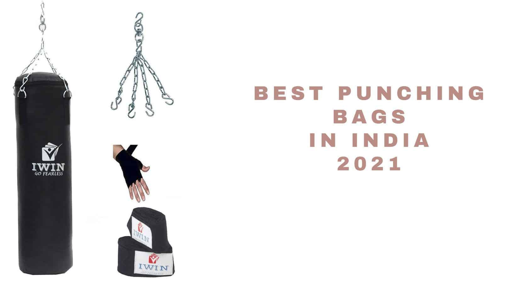 top punching bags in India