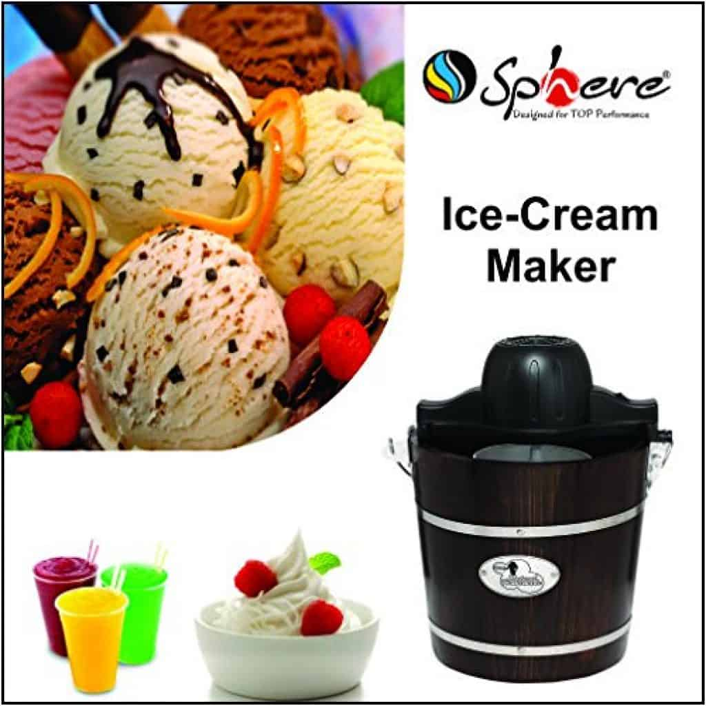 sphere ice cream maker