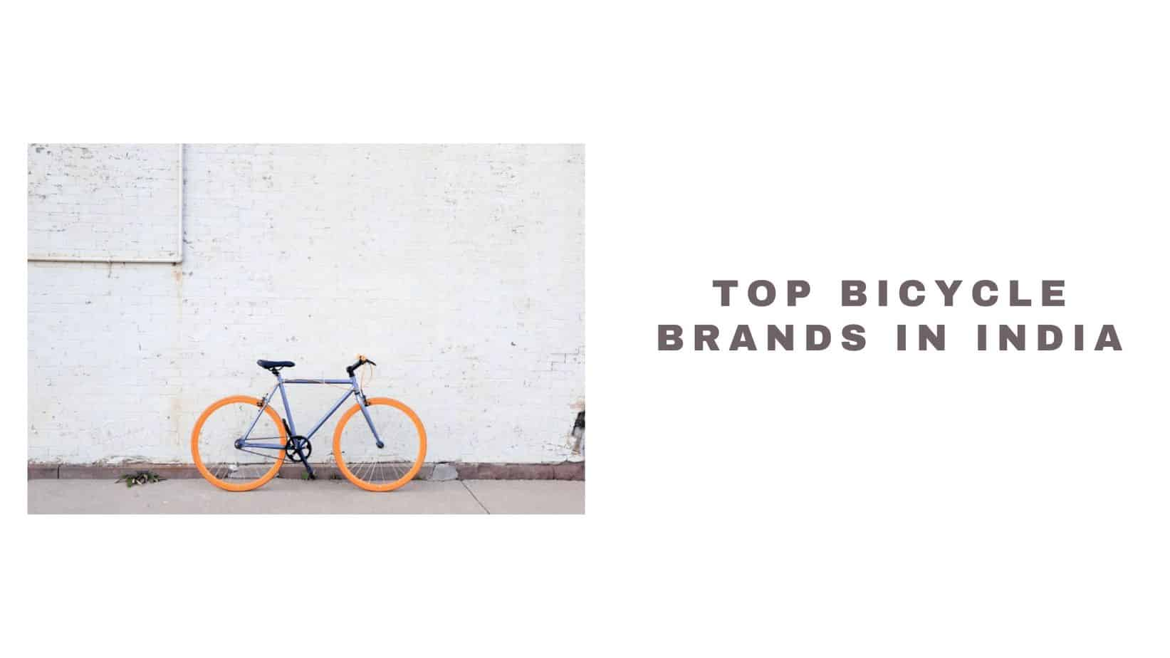 indian bicycle brands