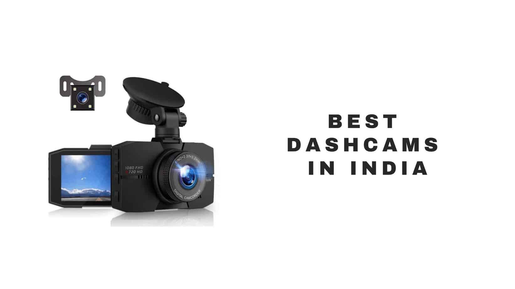 top dash cams in India