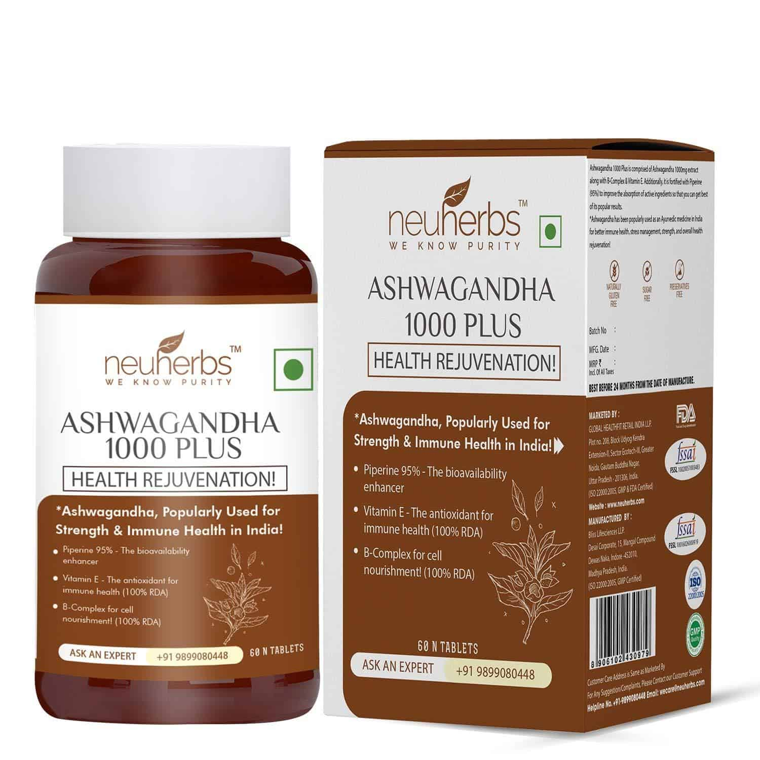 best ashwagandha supplements in India
