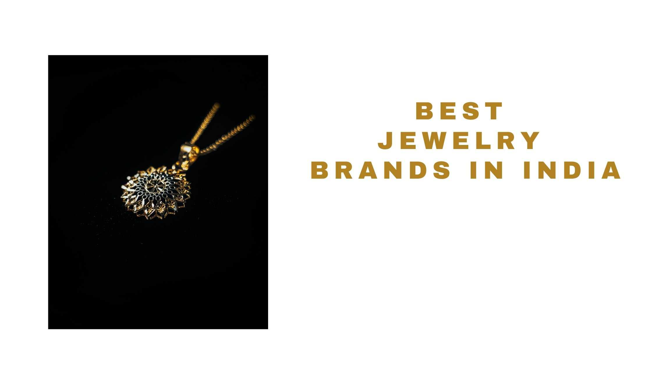 top jewelry brands in India