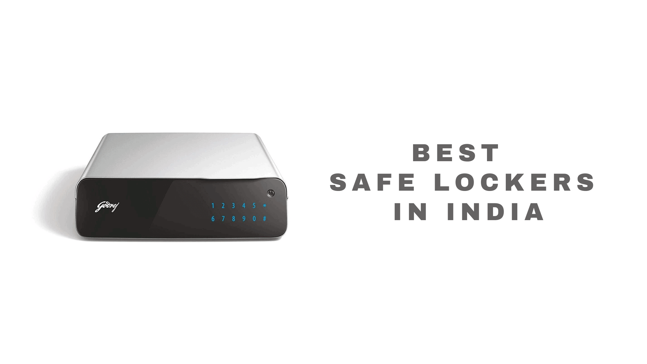 safe lockers in india