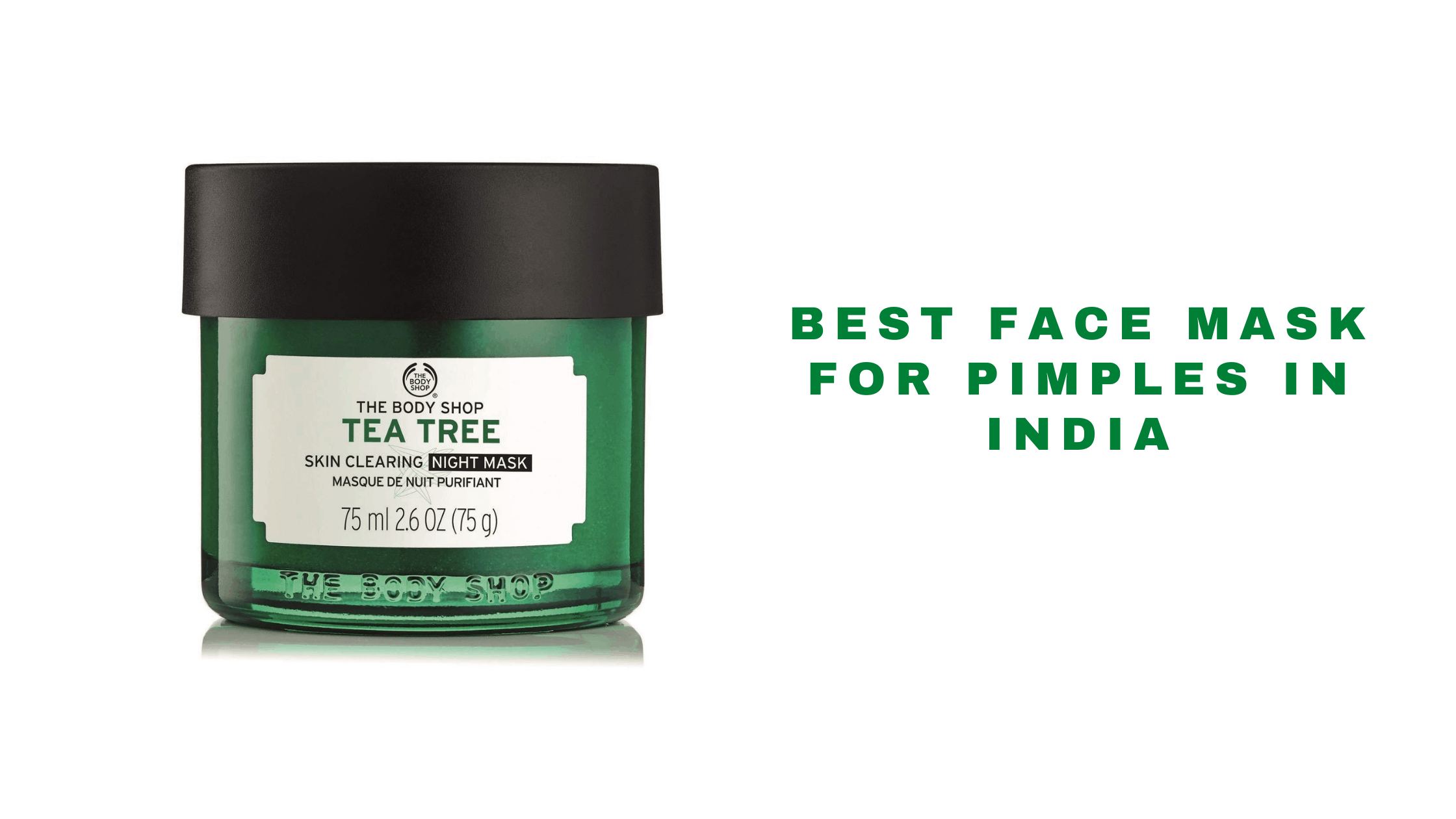 best face mask brands in india for pimples